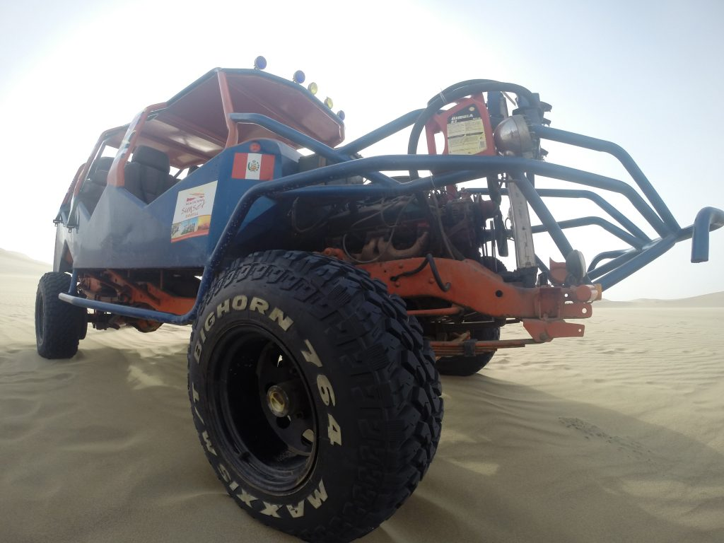 Exploration and research in the extremes of the dessert call for awesome vehicles!