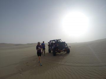 4x4 desert running with the dune buggies in the Ica Desert
