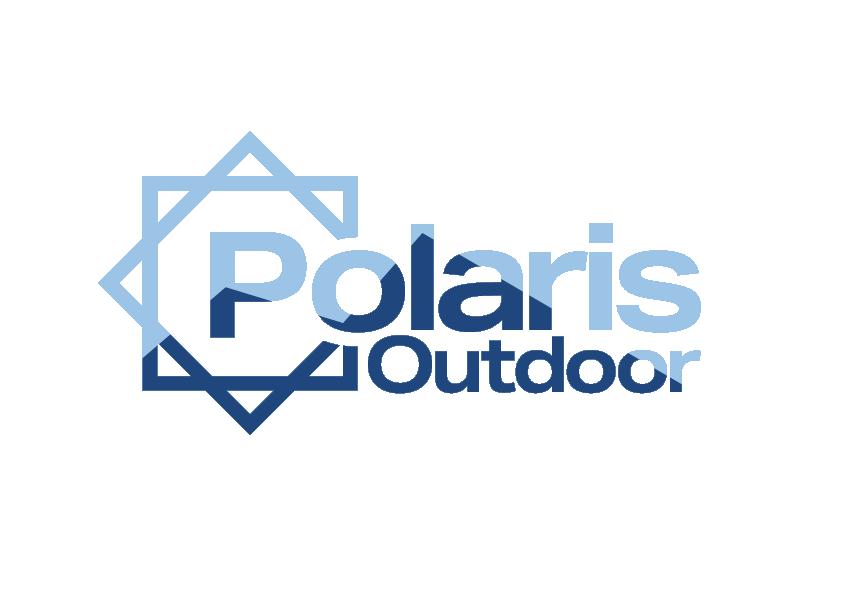 Polaris Outdoor Logo Light Blue and Dark Blue