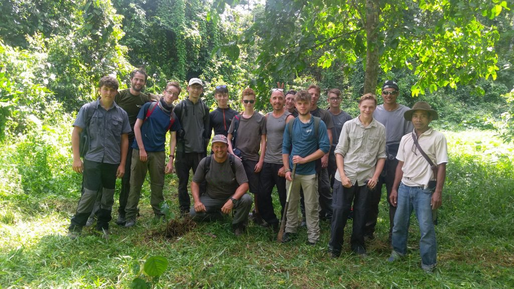 An amazing group of young lads on an expedition to Borneo to take part in a humanitarian aid project.