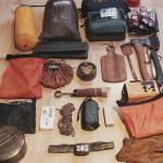 Camping gear and bug out bag and equipment needed for camping